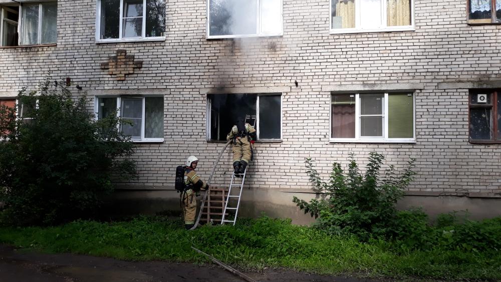 Пожар на Большой Московской