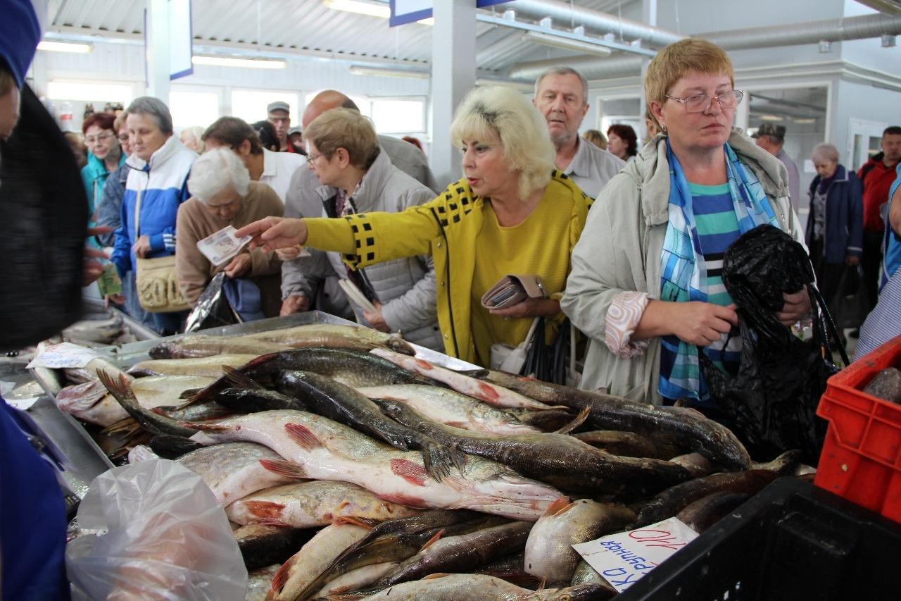 Распродажа рыбы