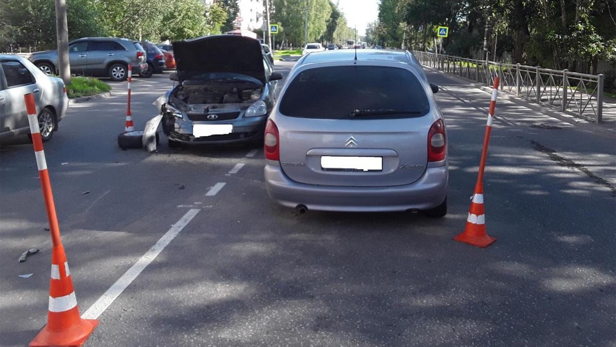 ДТП на Псковской улице