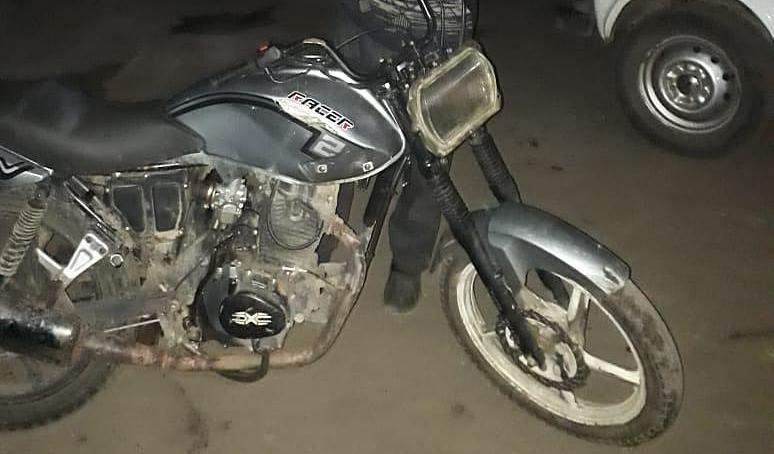 Украденный мотоцикл Racer