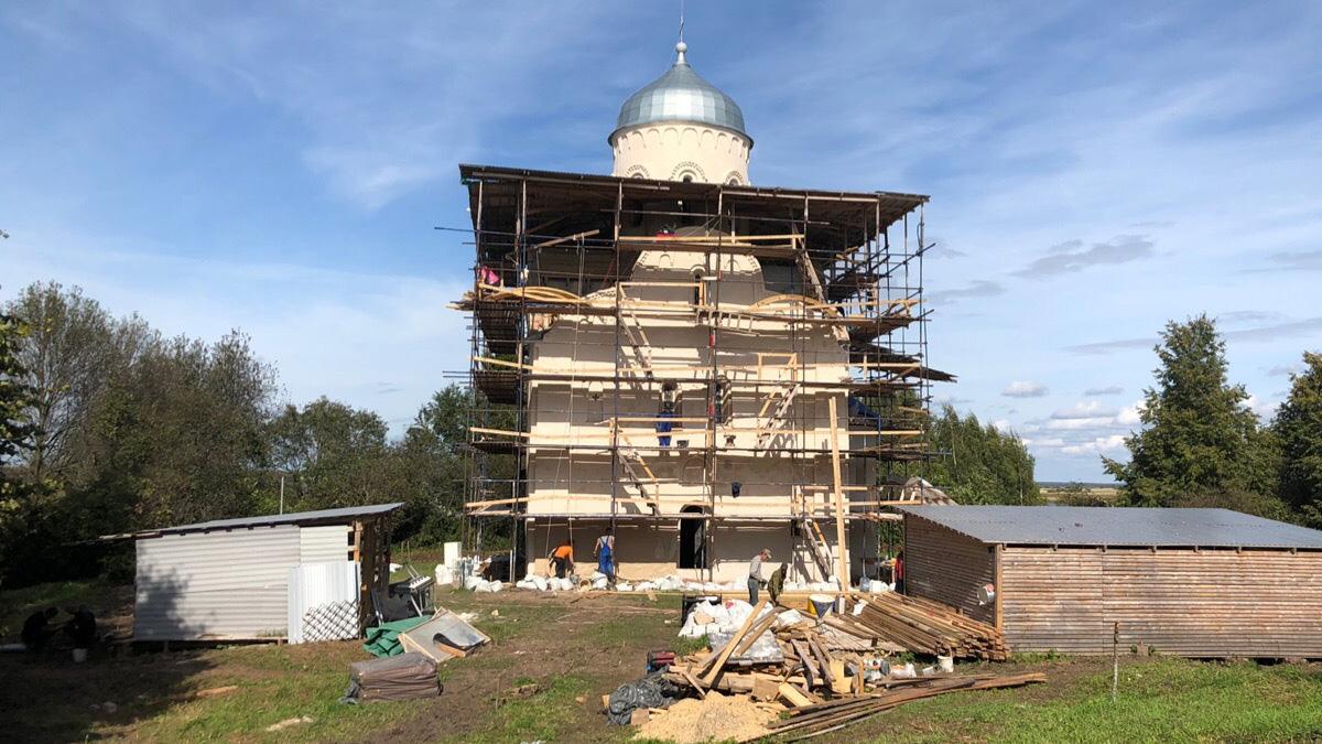 Реставрация церкви Николы на Липне