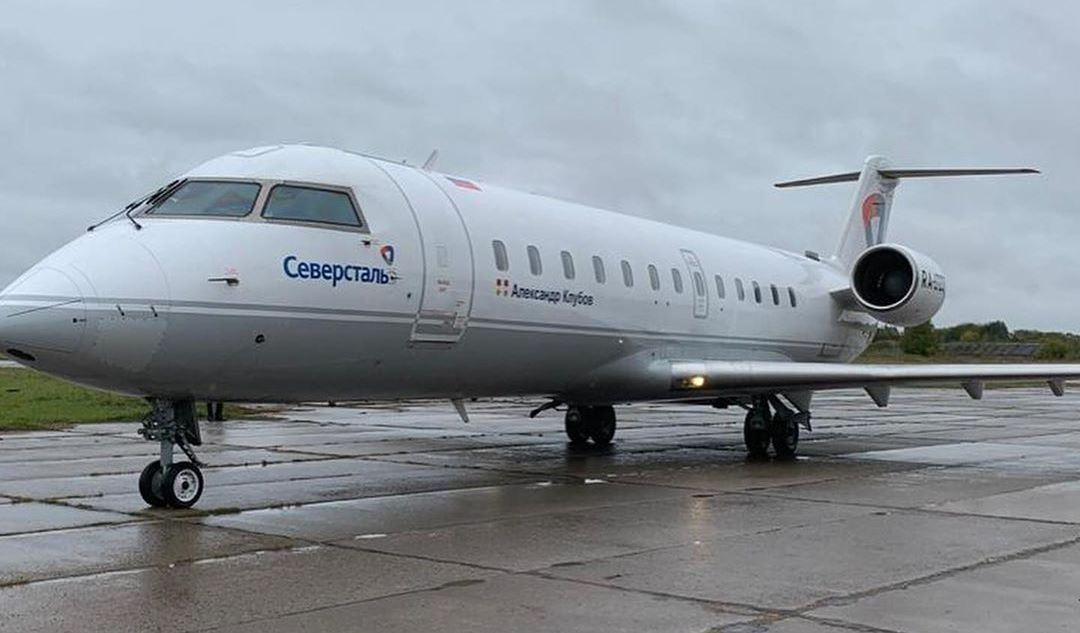 Самолёт в Кречевицах