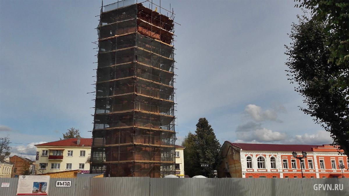 Реконструкция водонапорной башни