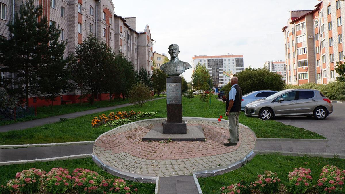 Эскиз бюста Якова Павлова