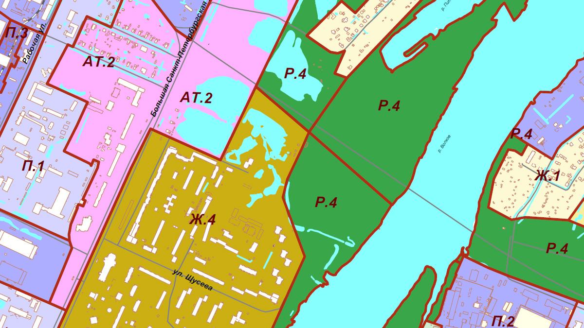 Территориальное зонирование