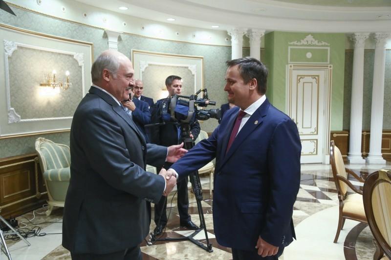 Александр Лукашенко и Андрей Никитин