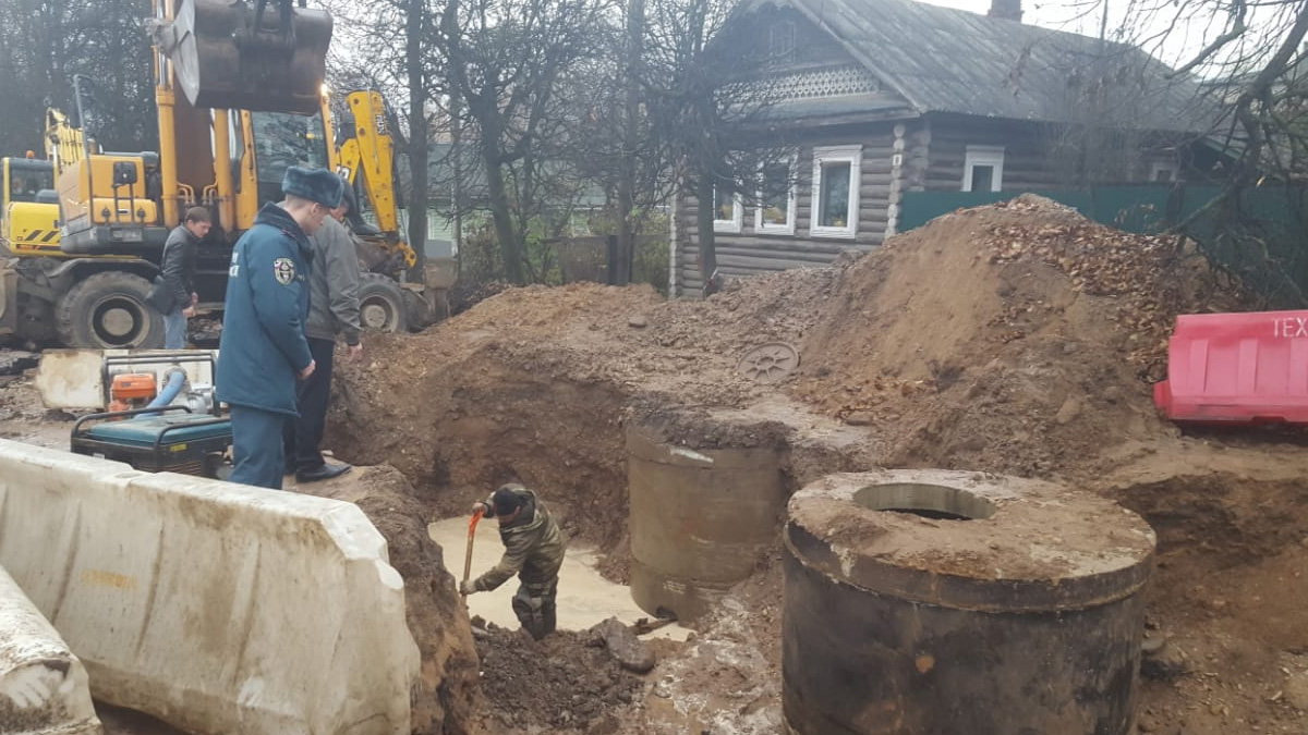 Авария в Сольцах