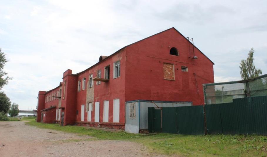 Общий вид северо-восточной части здания