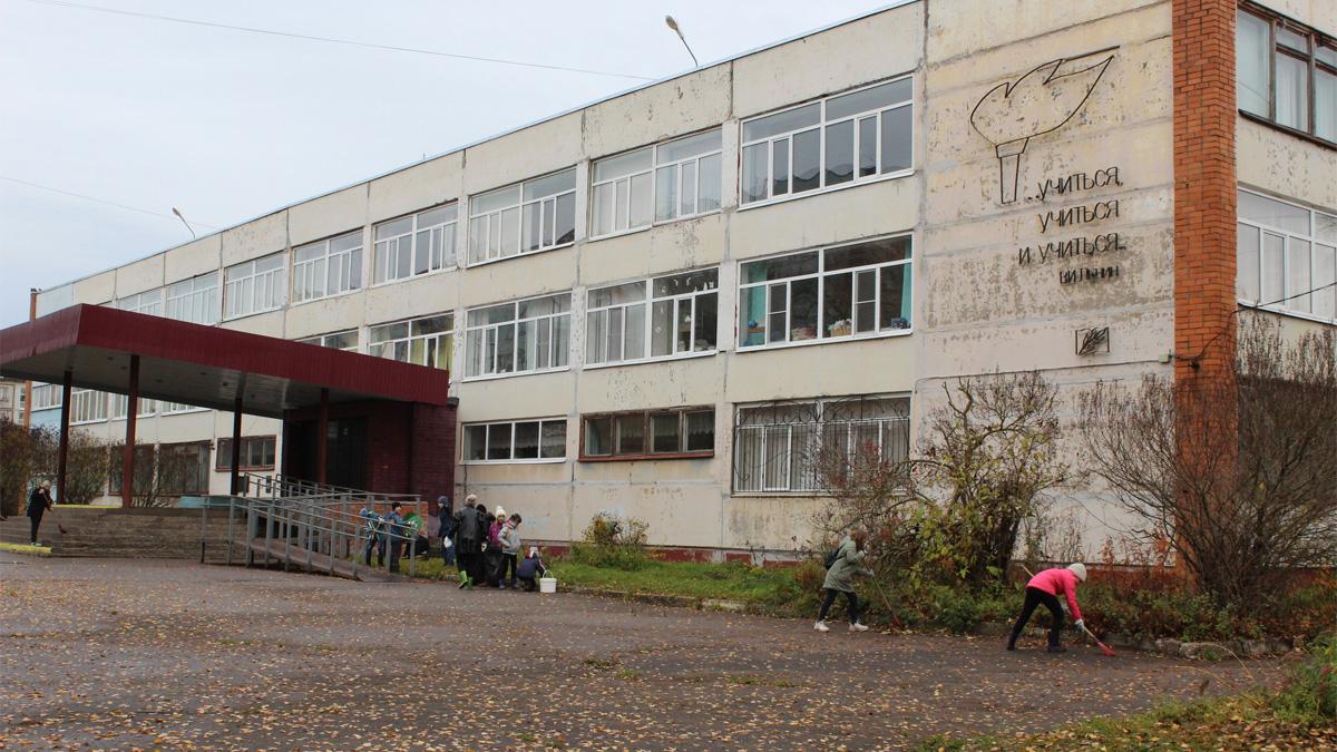 Школа №16 в Деревяницах