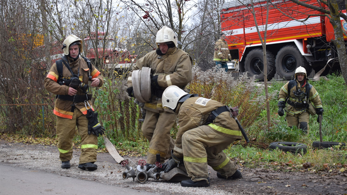 Пожарные подразделения
