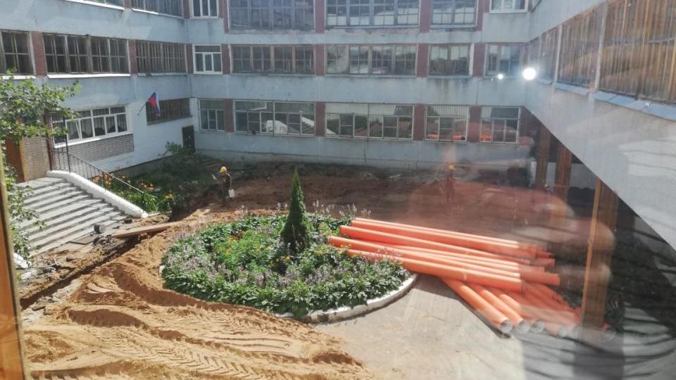 Ремонт в гимназии «Исток»