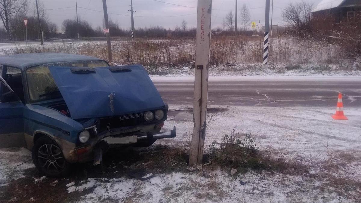 ДТП в селе Зимогорье
