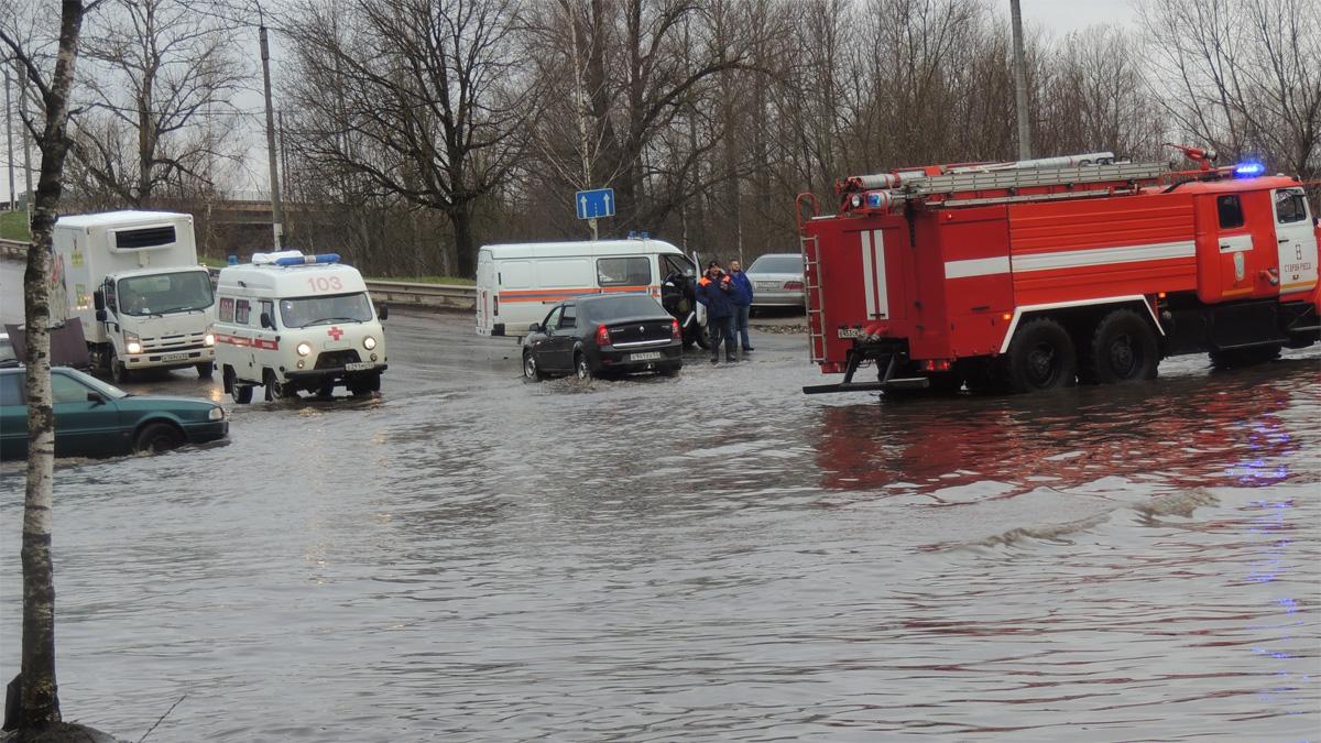 Ситуация на дорогах Старой Руссы
