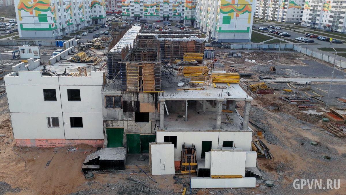 Строительство детского сада на улице Якова Павлова