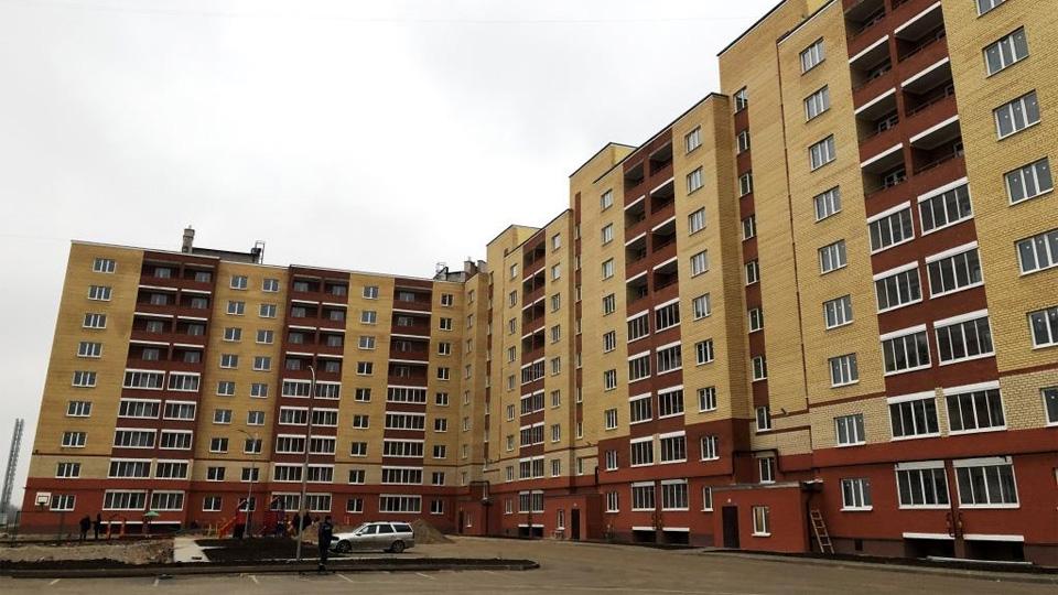 Новый дом на улице Якова Павлова