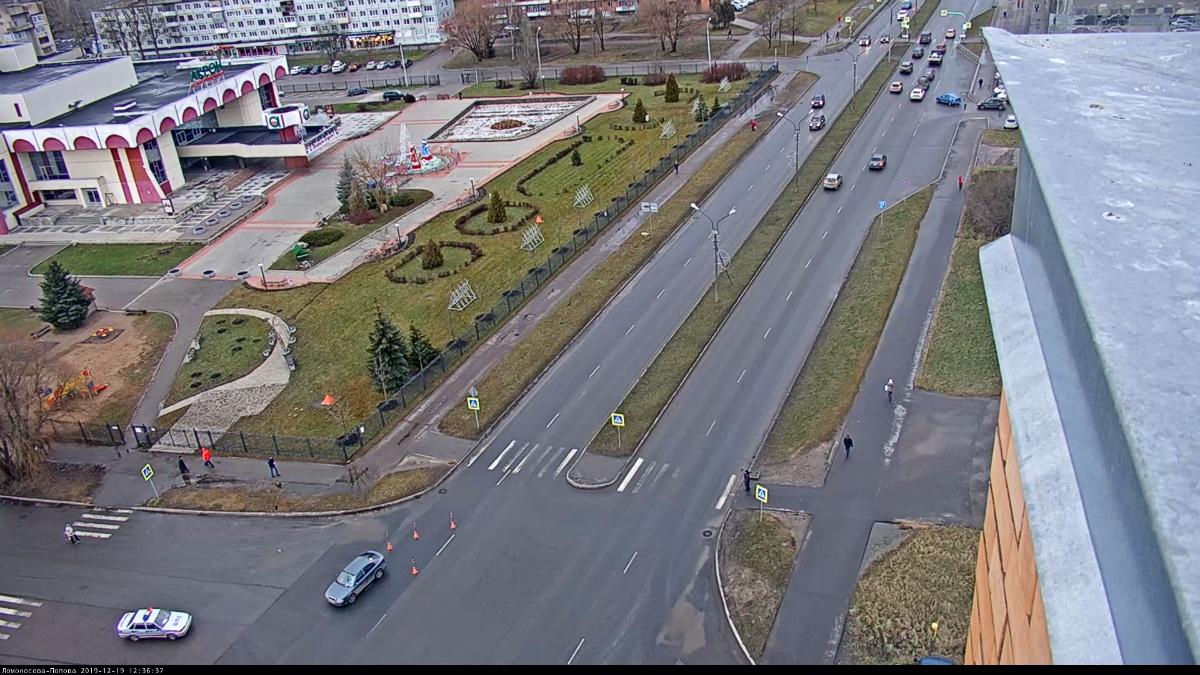 ДТП на Ломоносова