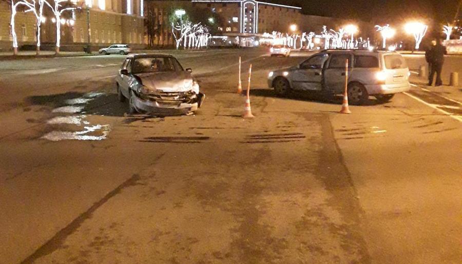 ДТП на площади Победы-Софийской