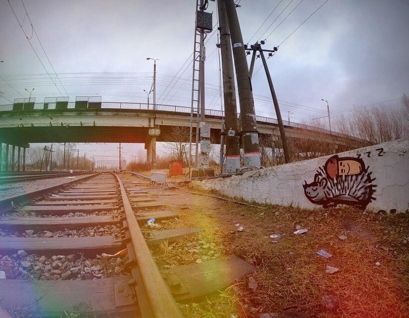 Граффити грибов