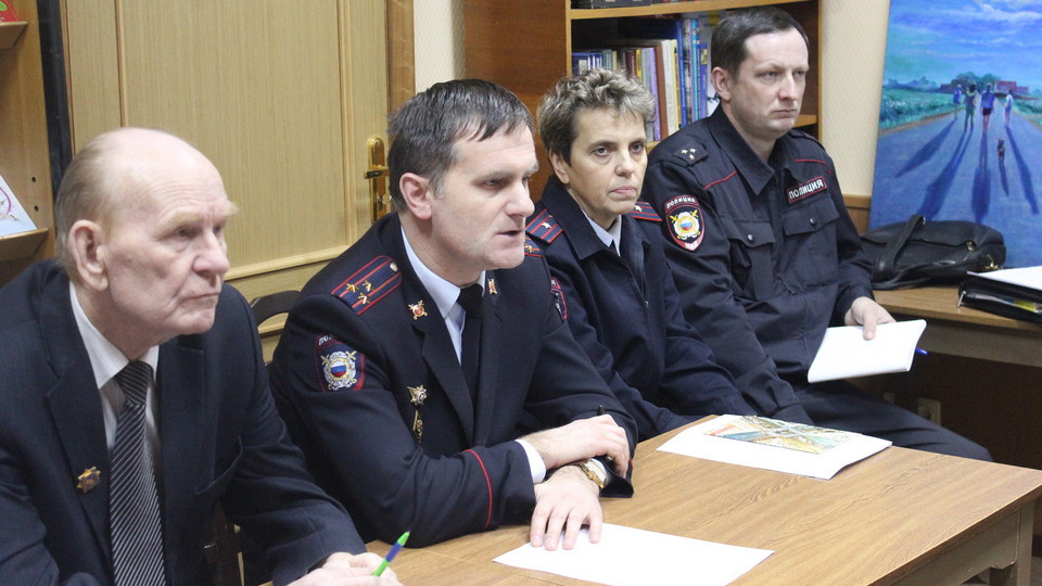 На встрече в Волховском