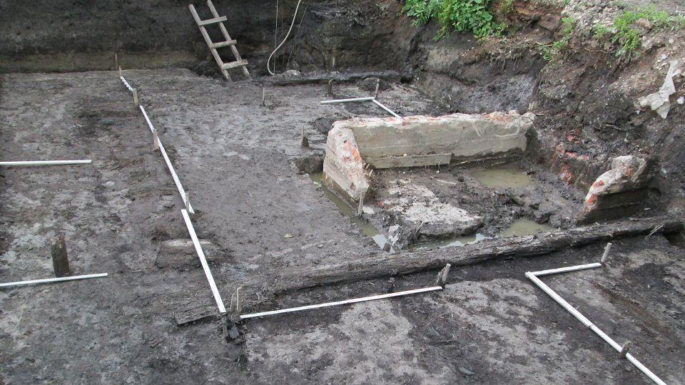 Раскоп в Знаменском переулке