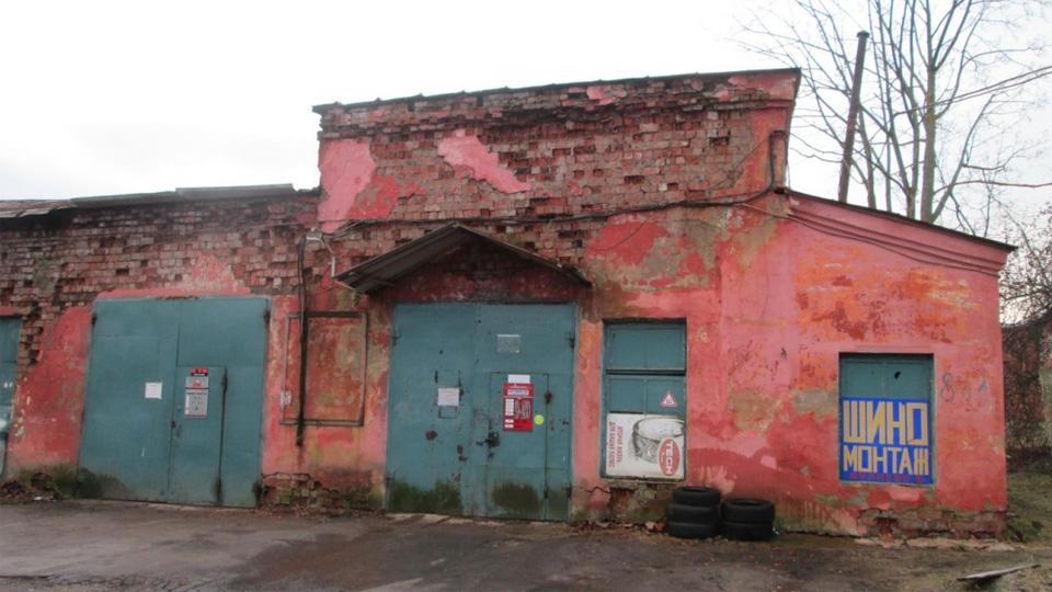 Фрагмент северного фасада