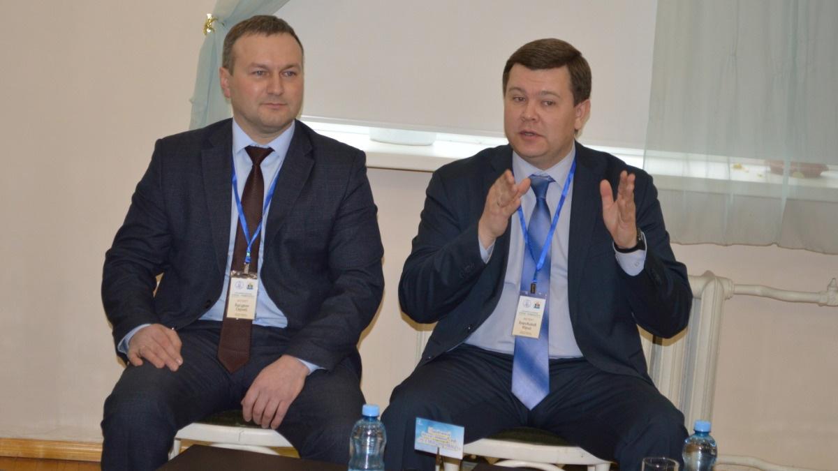 Сергей Бусурин и Юрий Боровиков