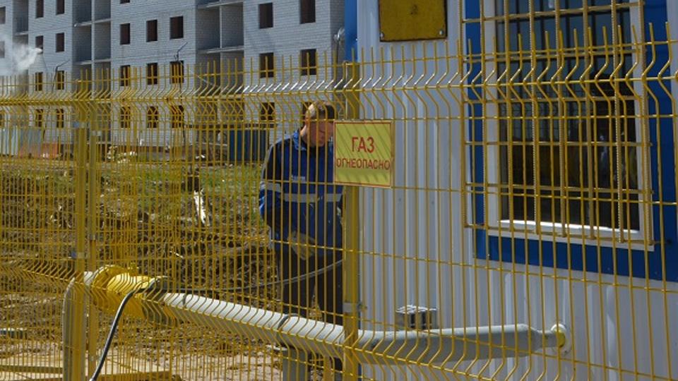 Газификация новостроек на улице Кочетова
