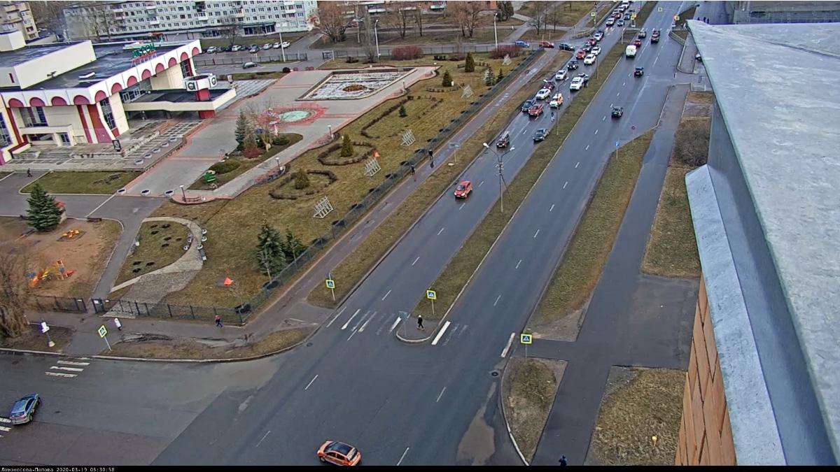 ДТП на улице Ломоносова