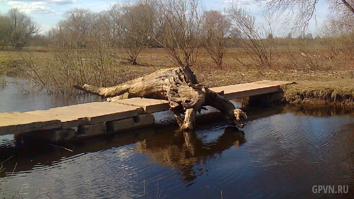 Мост между Юрьево и Мячино