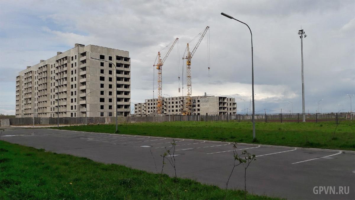 Строительство в «Ивушках»