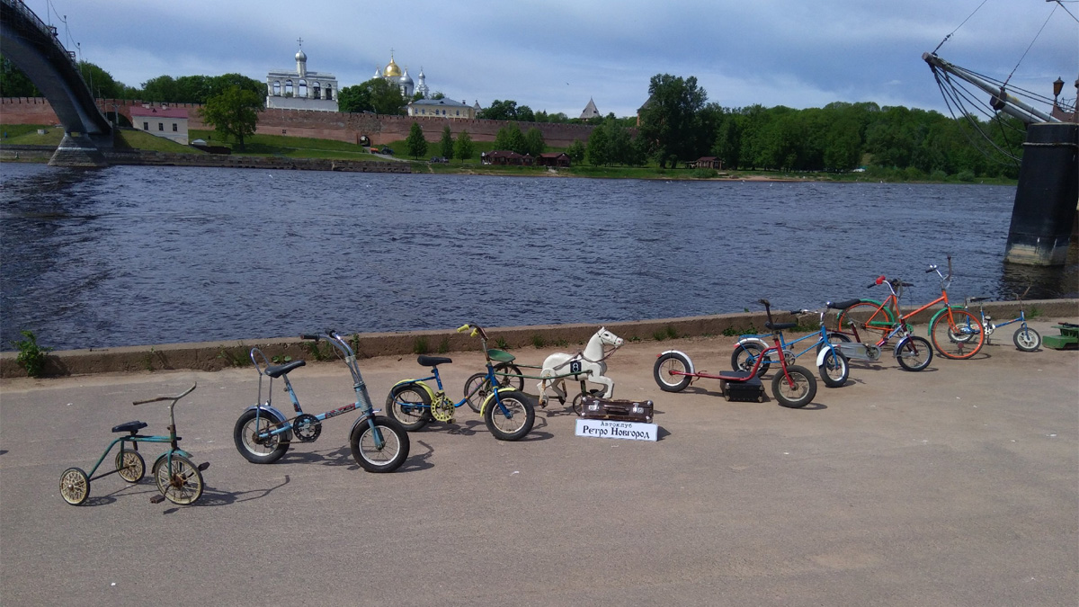 Коллекция детских советских велосипедов