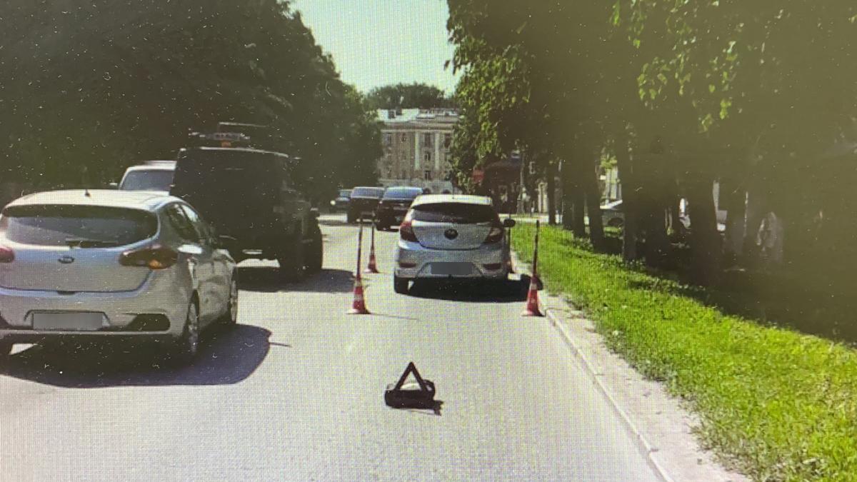 ДТП с пешеходом на улице Розважа