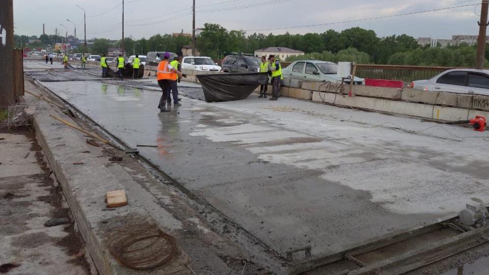 Ремонт Колмовского моста