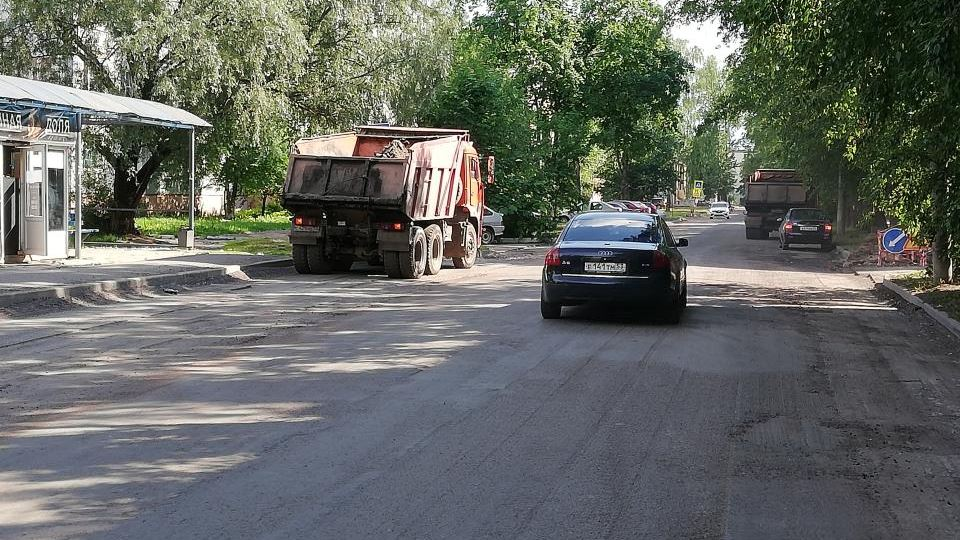 Ремонт улицы Менделеева