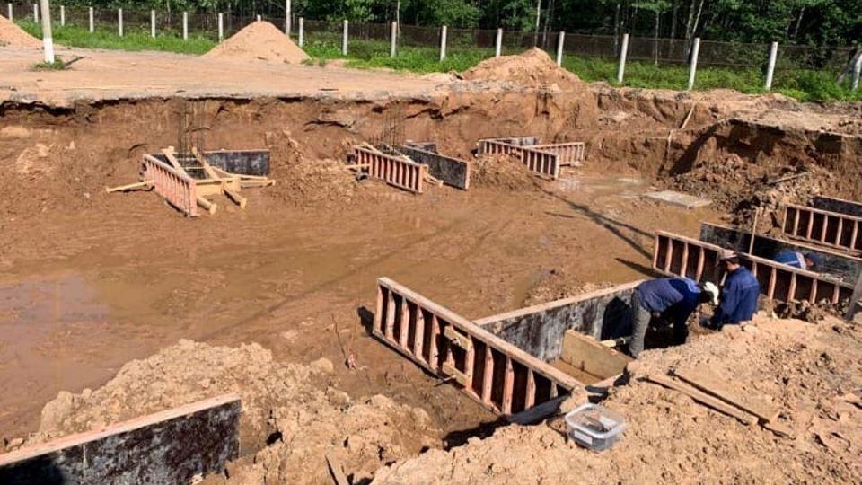 Строительство станции доочистки