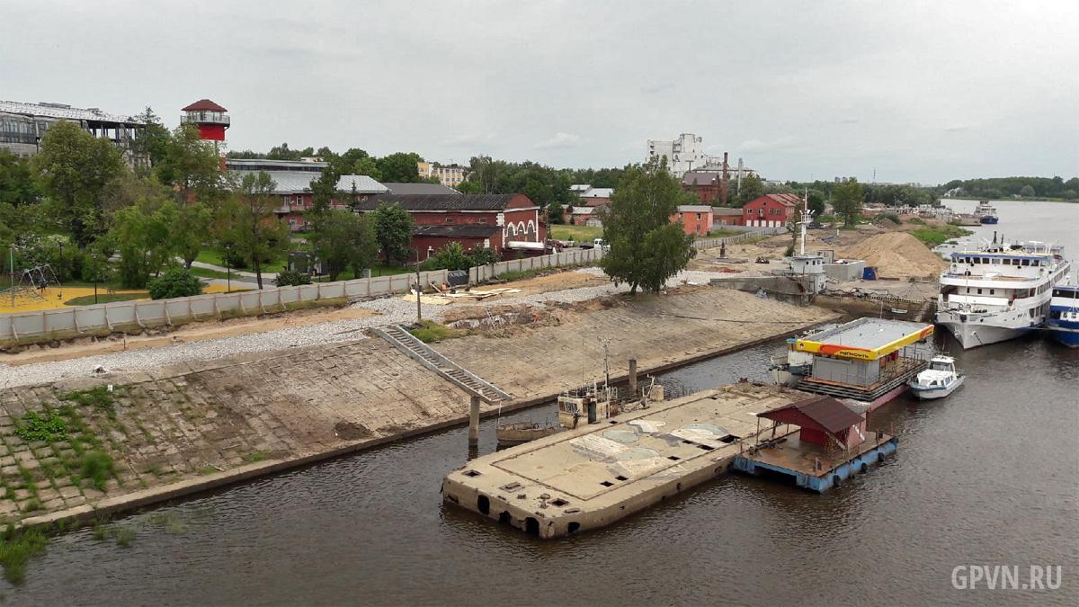 Строительство Софийской набережной