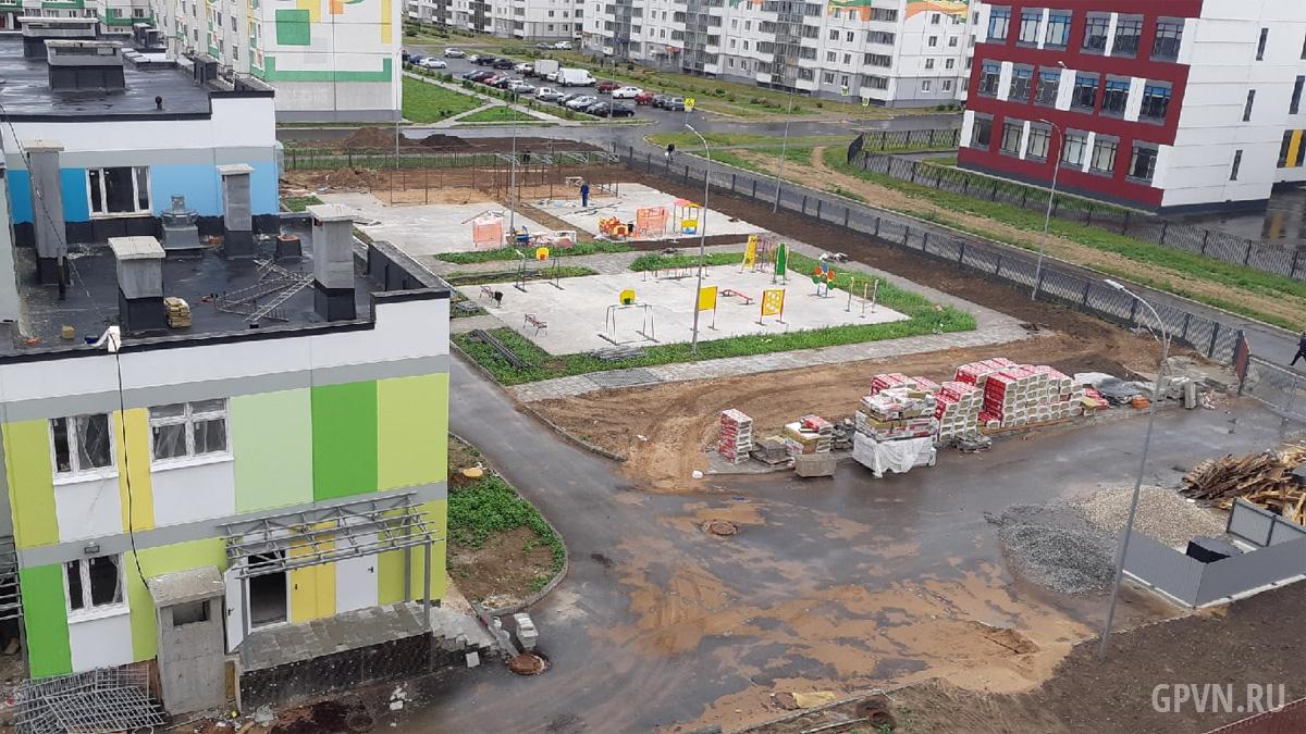 Строительство детского сада в «Ивушках»