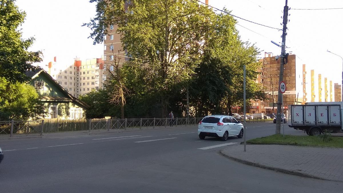 Ликвидированный пешеходный переход