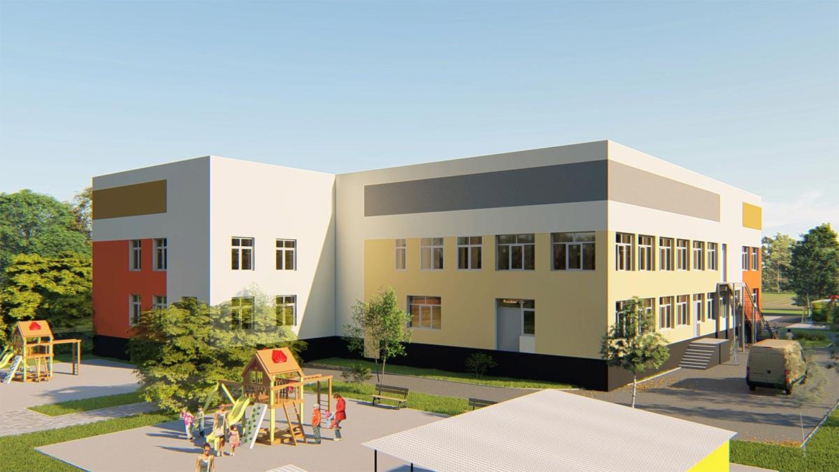 Проект детского сада в Волховце
