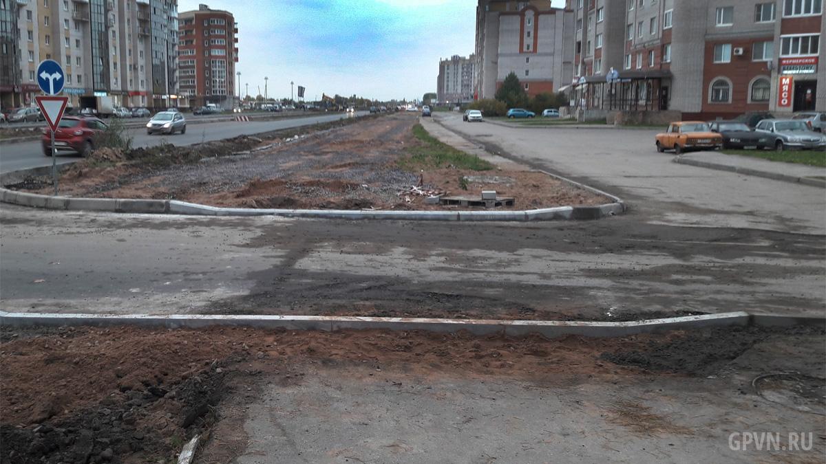 Реконструкция Псковской улицы