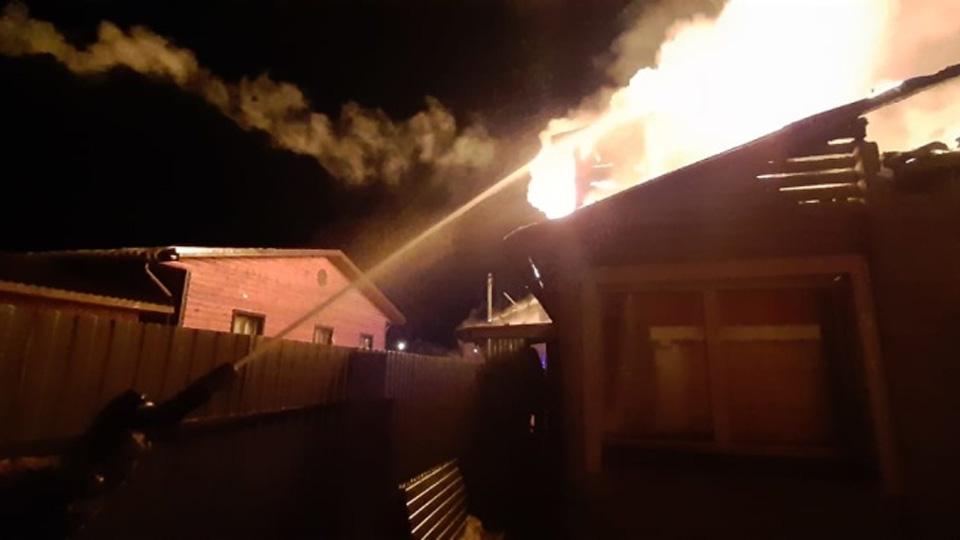 Пожар в Пестов