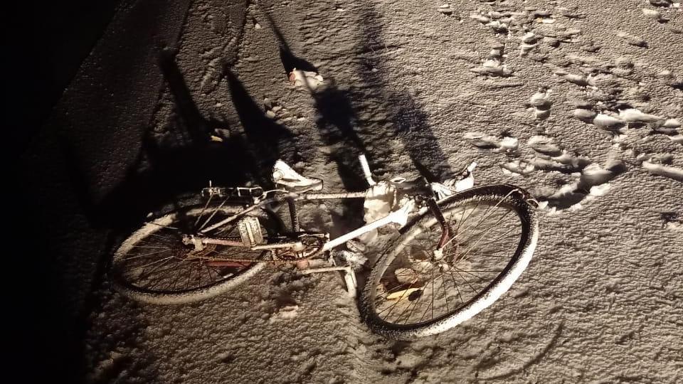 ДТП с велосипедистом на М10