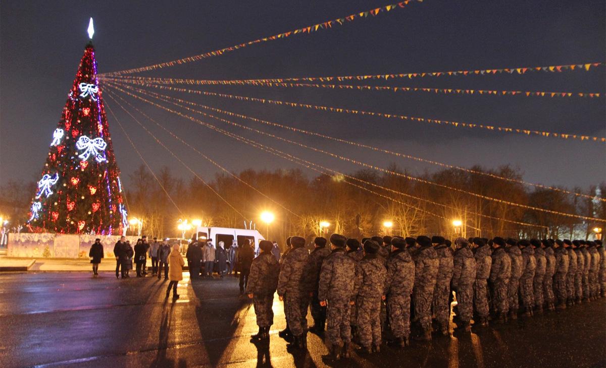 Новгородские полицейские