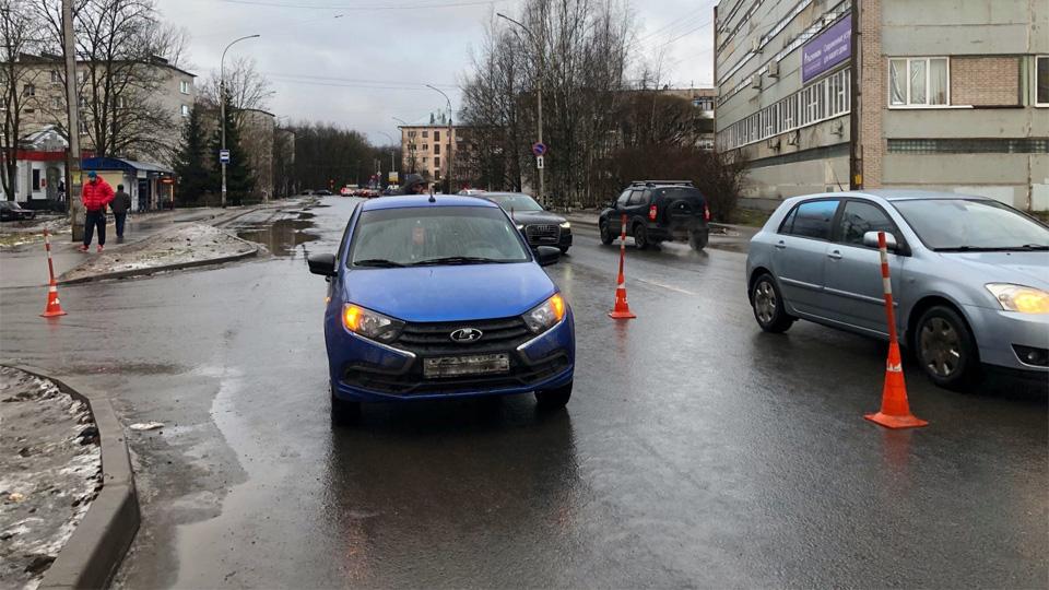 ДТП на Московской улице