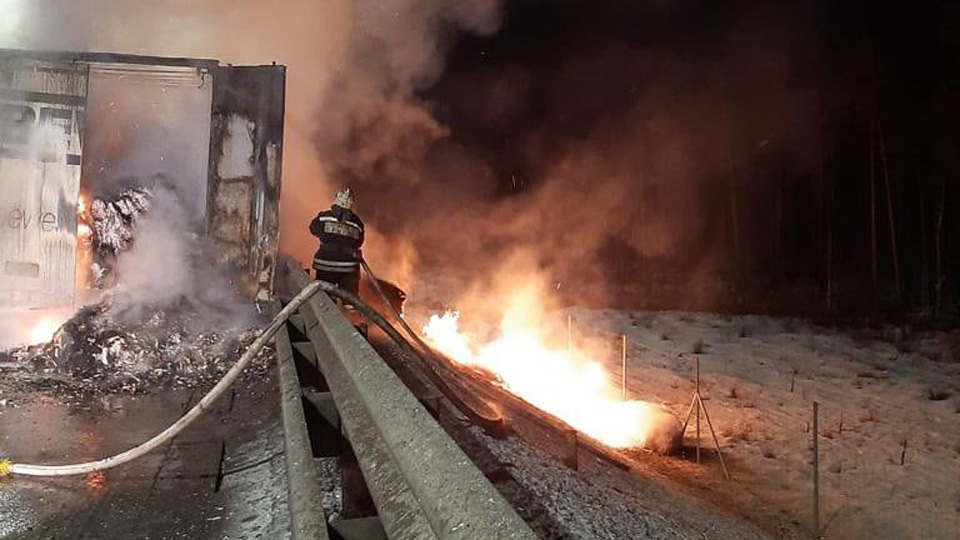 Пожар на М11