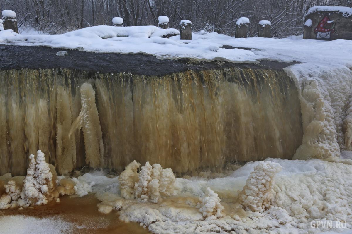 Карамельный водопад