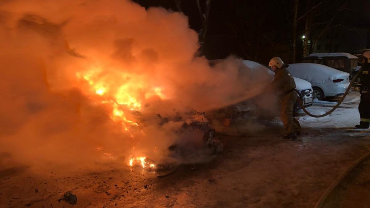 Пожар на Новолучанской