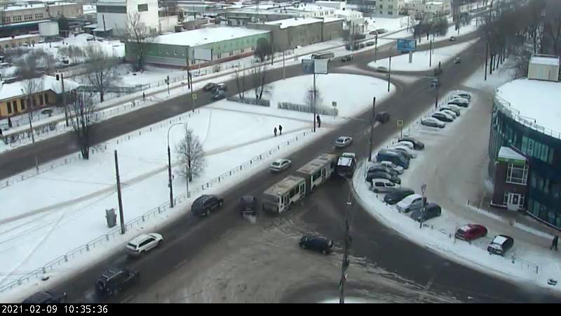 ДТП на проспекте Корсунова