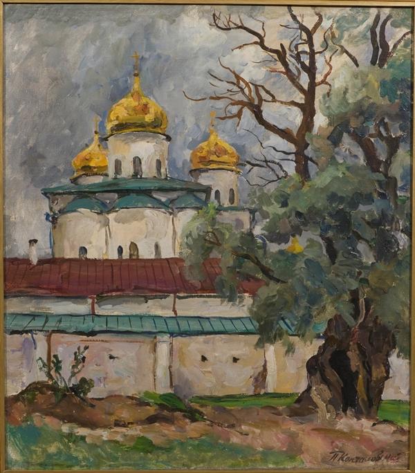 Работа Петра Кончаловского
