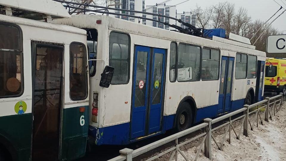 ДТП с троллейбусами